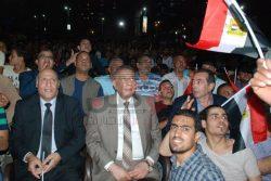 محافظ الجيزة يشارك المصريين فرحتهم بالوصول لكأس العالم بالمهندسين