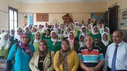 """"""" رؤية مصر للتنمية المستدامة 2030 """"  بمدرسة الورديان الثانوية بنات"""