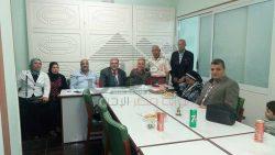 اجتماع الاتحاد التعاونى لمحافظه الإسكندريه لتنشيط الجمعيات التعاونيه للشركات