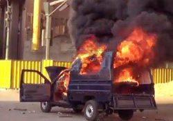 استشهاد مجندان و إصابة 10 أخرين بانفجار عبوه ناسفه فى شمال سيناء