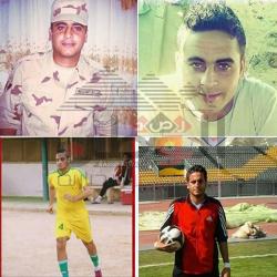 وفاة لاعب منتخب مصر متأثرا بجروحه عقب هجوم كرم القواديس