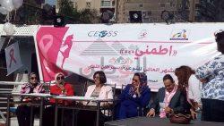 بالصور…الهيئة القبطية الإنجيلية تقيم احتفالا بالشهر العالمي للتوعية بسرطان الثدي تحت عنوان(اطمني)