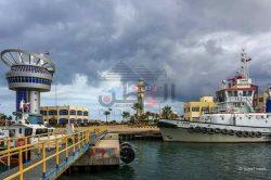 """ميناء دمياط يستقبل 4 سفن حاويات و 3 سفن بضائع عامة اليوم"""""""