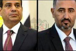 الرئيس الزبيدى يتقدم بالتعازى لشعب مصر و يدين الحادث الإرهابى الأليم