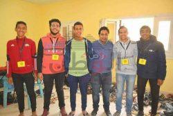شباب الخير بمدينه 15 مايو تنظم معرضا للملابس بالمجان بالتعاون مع جمعيه الوصال الخيريه.