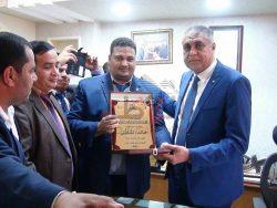 اتحاد شباب سوهاج يختار اللواء خالد الشاذلى شخصيه عام 2017