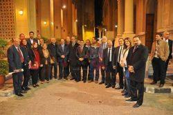 مؤسسة القادة بالإسكندرية تشارك الأخوة الأقباط بعيد الميلاد المجيد