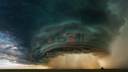 """عاجل…"""" أوروبا """" قطع الكهرباء وتعطل حركة النقل بسبب العاصفة اليونور"""