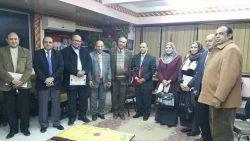 تعليم سوهاج : عمرو شحاته يستضيف مدير عام التعليم الصناعي بالوزارة