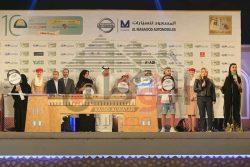 جناح مهرجان منصور بن زايد للخيول العربية يجذب الجماهير في مهرجان زايد التراثي بالوثبة