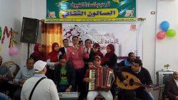 القافله الثقافيه بقرية مجول فى المحلة الكبرى