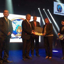 عائشة عبد الرحيم تحصد جائزة المنتدي العربي للإعلام.