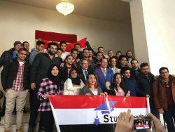 اتحاد شباب مصر بالخارج فرع روسيا المصريون بالخارج في الانتخابات عزفوا سيمفونية حب الوطن