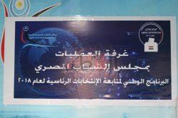 مجلس الشباب المصري يتابع الانتخابات الرئاسية 2018