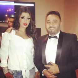 بالصور .. دينا ثروت تحتفل مع مجد القاسم بألبومه فى كافية Villa Forty Five