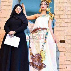 مصممة الأزياء العراقية شروق الخزعلي الازياء العراقية ظاهرة ثقافية حضارية