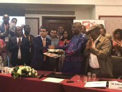 بالصور…«IBDL» توقع اتفاقية تعاون مع «حاضنات الأعمال الزراعية الأفريقية»
