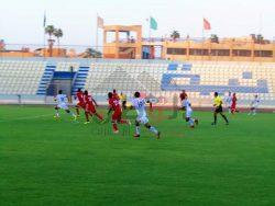 بالصور بنى سويف يفوز على ضيفه المنيا بثلاثية مقابل هدفين