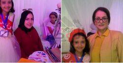 تكريم طفلة مبدعة ضمن نساء تونس المبدعات…السفيرة ملاك المناعى