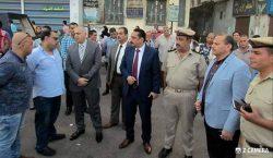 حملة أمنية مكبرة لإزالة التعديات علي املاك الدولة