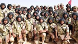"""الرئيس السيسى يشهد بيان الرماية الصاروخية """" حماة السماء """" لوحدات الدفاع الجوى"""