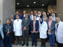 م.ع/ احمد المهدى يتوجه بكل الشكر والتقدير لفريق عمل مستشفى صيدناوى بالقاهرة
