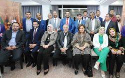 المؤتمر الصحفى لمهرجان خيرات بلادى بالكويت (رابطة أبناء البحيرة )