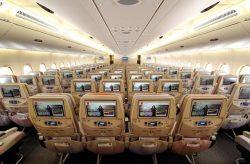 """طيران الإمارات يستثمر فى نظام الترفيه الجوى """" ice """""""