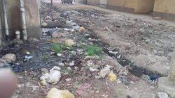 سكان الشوش بقرية روافع القصير بسوهاج : مياه المجارى تحاصرنا