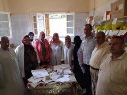 الإدارة الصحية أول المحله تتابع اليوم الأول للقافلة الطبية الشاملة بقرية دمرو