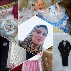 هدي نصر الداهش : شاهدي إبداعها في العمل اليدوي واكسسوار المناسبات