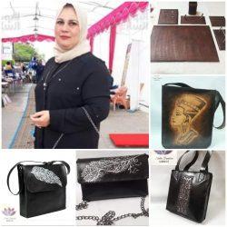 مها دعدور : تعدد تصميمات من الجلد الطبيعي للنساء والرجال للوصول إلى التميز والأناقة