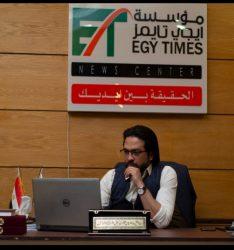 د. محمد نبيل يعلن عن افتتاح أول مقر لمؤسسة أيجي تايمز للاعلام ببني سويف