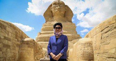 زيارة نائبة رئيس وزراء الصين للاهرامات.. وتؤكد: نحرص على علاقتنا القوية بمصر