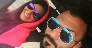 إبراهيم سعيد وزوجته الجديد