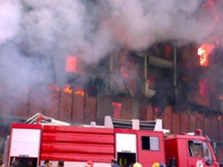 قوات الحماية المدنية تمكنت من إخماد النيران بصعوبه شديدة