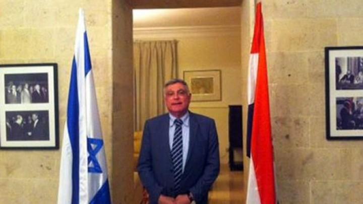 رسالة من السفير الإسرائيلي للصحفيين المصريين