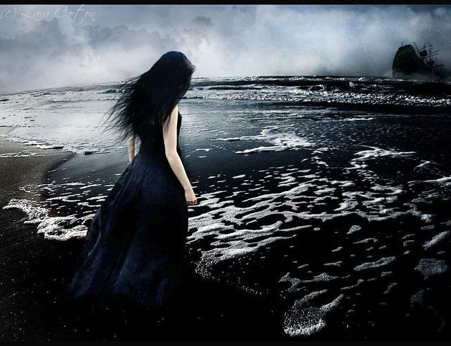 امرأة الأحزان .. عذاب الحب …..